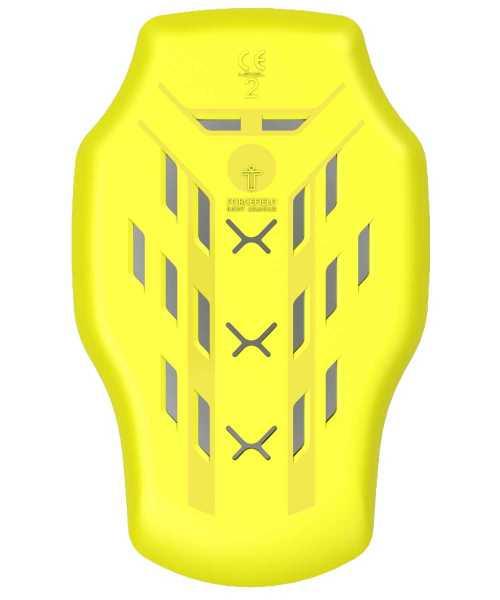 Forcefield Isolator Level 2 Rücken Protektor Einsatz gelb