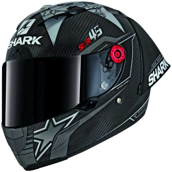 Shark Race-R Pro GP Replica Redding Winter Test Racing Helm carbon-schwarz-rot
