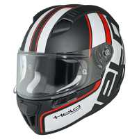 HELD by Schuberth H-SR2 Race Sport Integralhelm schwarz-weiß-rot
