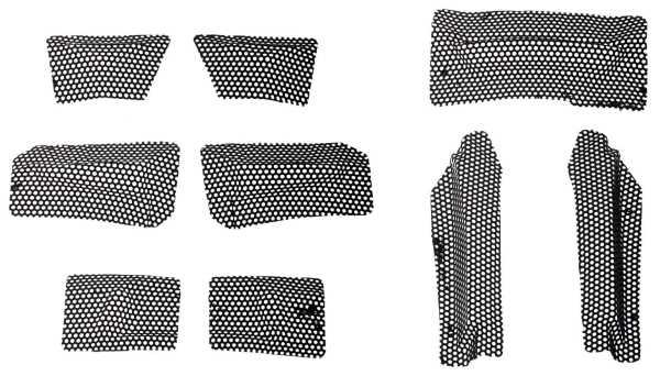 Lüftungsgitter für LS2 MX436-MX437-MX437J