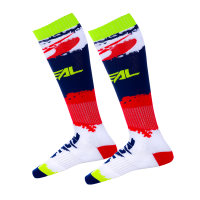 Oneal Pro MX Socken Revit rot-blau 0356-763