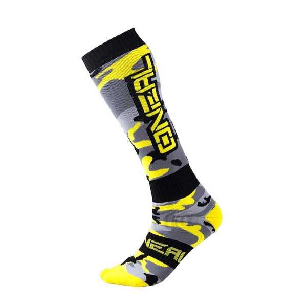ONEAL Pro MX Socken Hunter schwarz-grau-neongelb