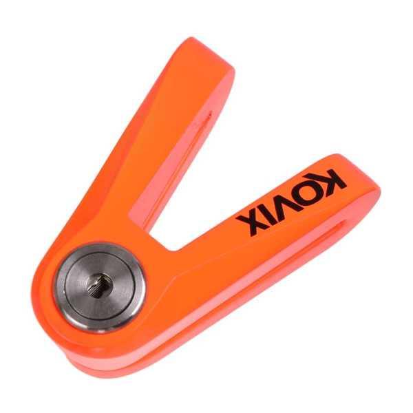 KOVIX KVX Fluo orange 14mm Pin Bremsscheibenschloss
