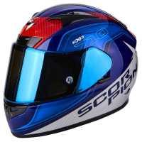 Scorpion EXO-710 Air Mugello Integralhelm blau-rot-weiss