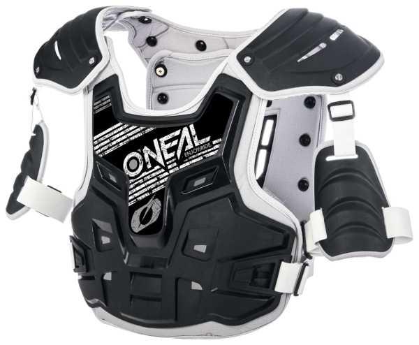 ONEAL PXR Stone Shield Motocross-Panzer schwarz-grau