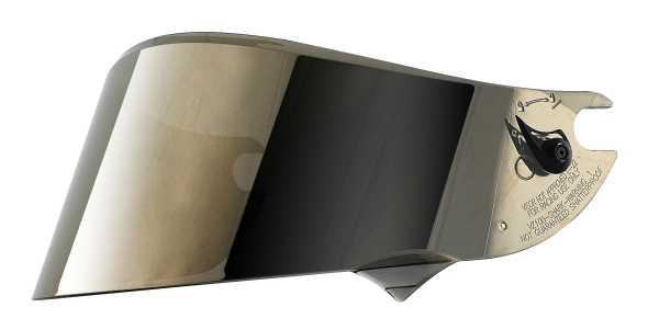 Visier gold verspiegelt Shark Vision-R GT Carbon, Vision-R und Explore-R