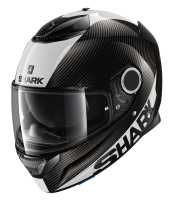 Shark Spartan Carbon 1.2 SKIN Integralhelm carbon-weiß