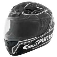 Germot GM 305 Integralhelm matt-schwarz-grau