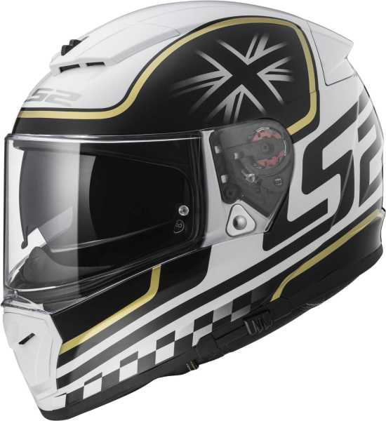LS2 Helm FF390 Breaker Classic weiß-schwarz