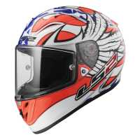 LS2 Arrow R Evo Freedom FF323 Sport Integralhelm weiß-orange-blau