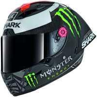 Shark Race-R Pro GP Replica Lorenzo Winter Test Racing Helm carbon-weiß-grün