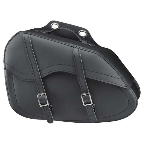 HELD Cruiser Drop Bag Satteltasche aus Leder