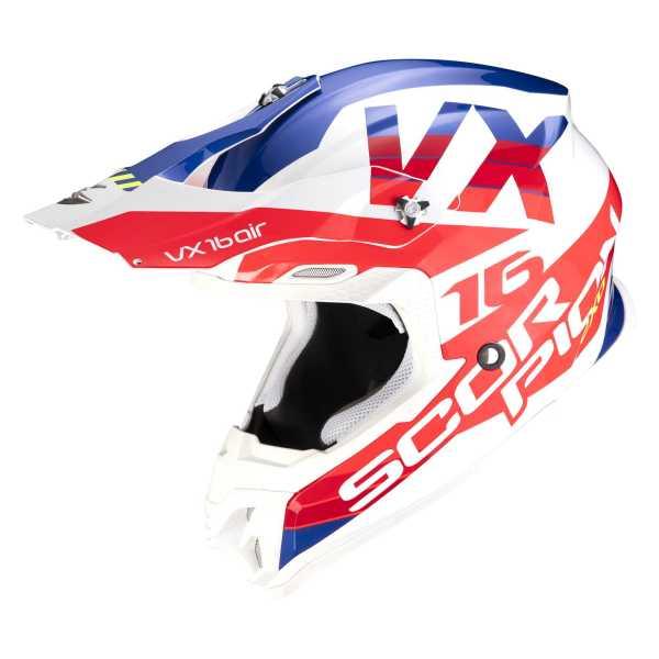 Scorpion VX-16 AIR X-TURN Motocross-Helm