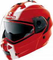 Caberg Duke II Legend Klapphelm Ducati rot-weiß