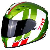 Scorpion EXO-710 Air GT Integralhelm grün-weiß-rot