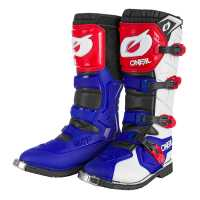 Oneal Rider Pro Cross Stiefel blau-rot-weiss 45 0335-511
