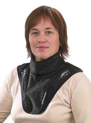Damen Halswärmer Kate Schwarz