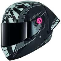 Shark Race-R Pro GP Replica Zarco Winter Test Racing Helm carbon-weiß-silber