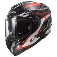 LS2 Challenger GP FF327 Integralhelm schwarz-rot