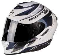 Scorpion EXO-1400 Air Cup Integral Helm weiss-blau
