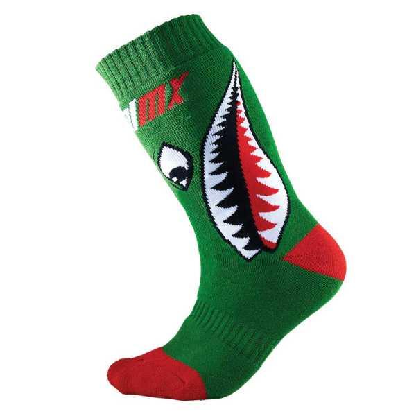 ONEAL Pro MX Kinder Socken Bomber grün