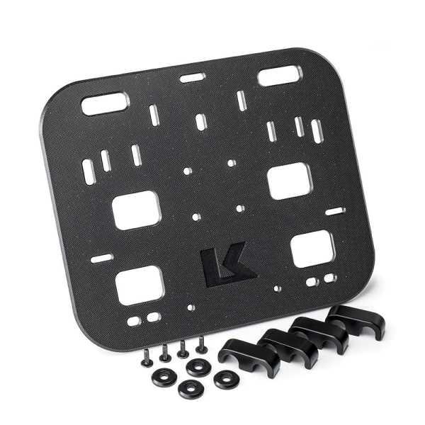 KRIEGA OS-Halteplatte für 18-19 mm Rahmenstärke