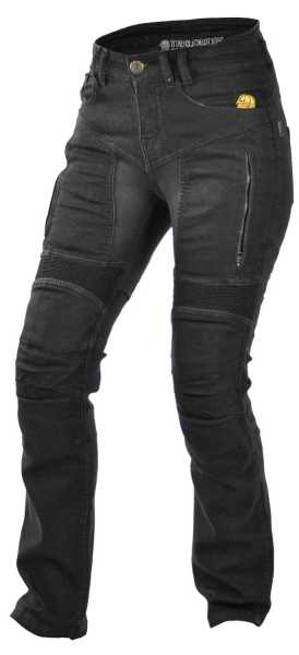 Trilobite Parado Kevlar-Jeanshose damen schwarz
