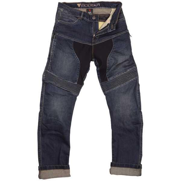 Modeka Bronston Motorrad-Jeans blau