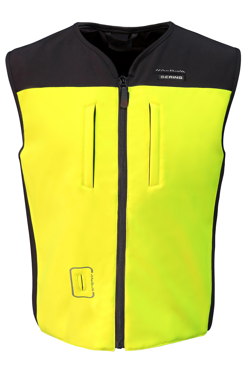 bering c protect air airbag weste f r motorrad neongelb. Black Bedroom Furniture Sets. Home Design Ideas