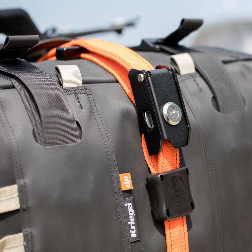 Kriega Hook Strap US-5 Ersatz Haken Riemen Gurte Set US-Drypack Motorrad Tasche